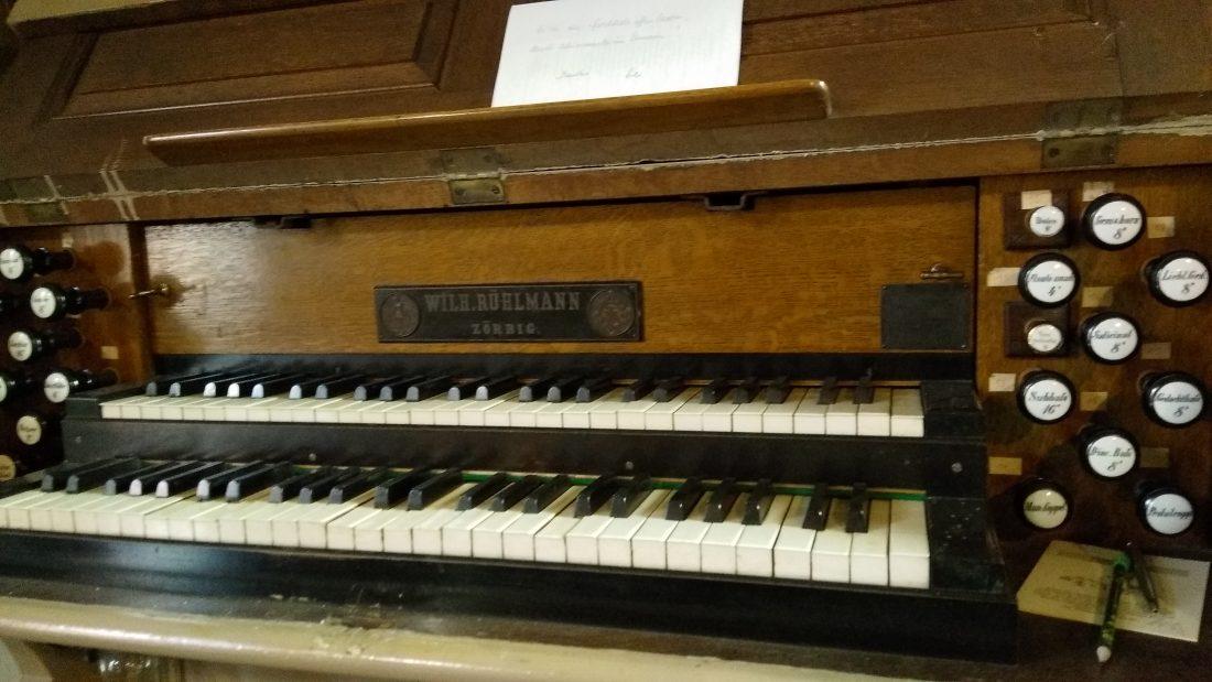Orgelreparatur