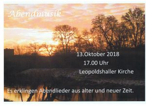 Abendmusik @ Staßfurt Leopoldshall